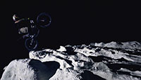 Julien Dupont on the Moon